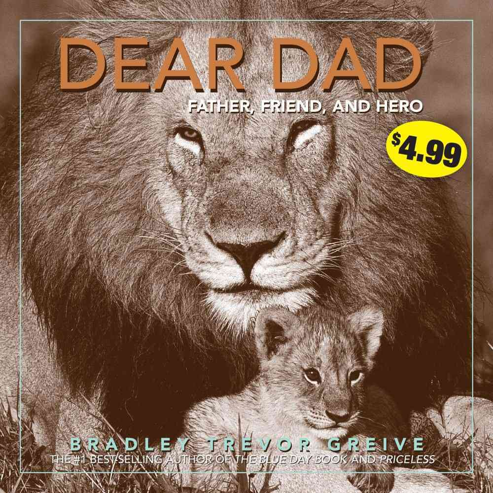 Dear Dad By Greive, Bradley Trevor